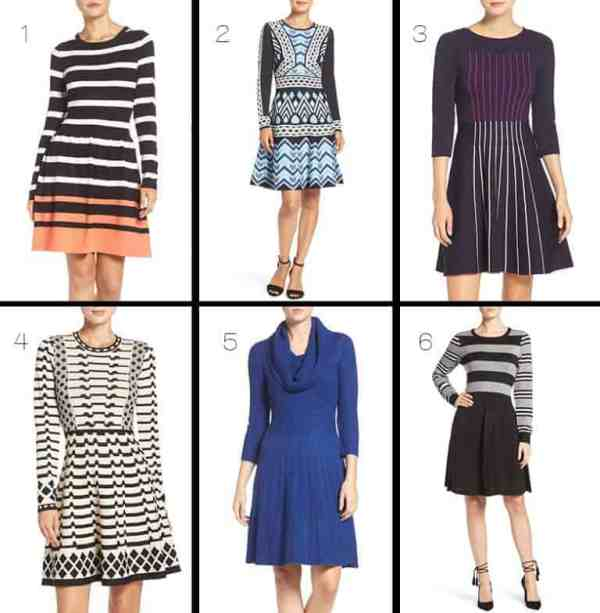 Eliza J Sweater Dresses from Nordstrom