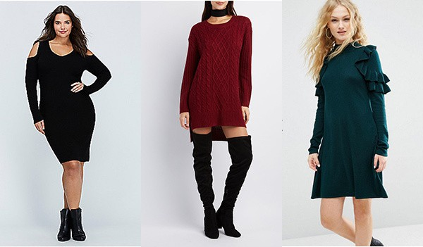 Sweater Dresses are perfect for Thanksgiving