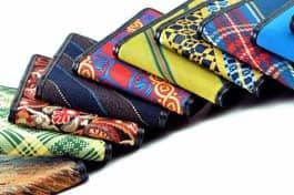 Necktie Wallets from Keelan Rogue
