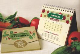 Grow-a-Garden Plantable Seed Calendar