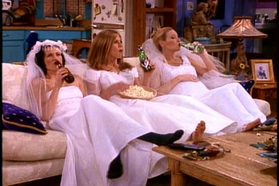 Friends Wedding Dress Episode
