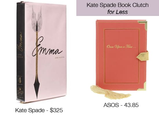 Kate Spade Book Clutch for Less