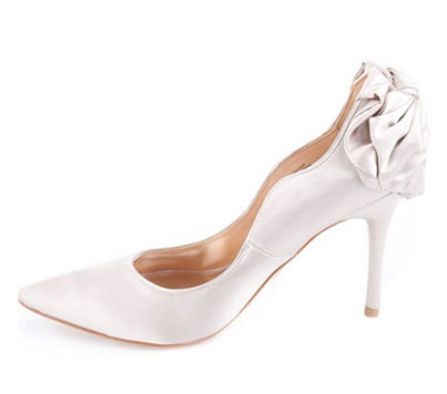 Badgley Mischka Wysdom II Satin Pumps