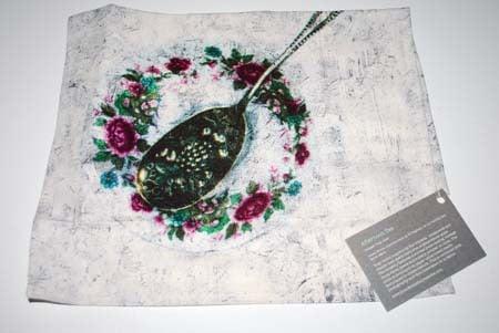 Jennifer Slattery Printed Tea Cloth