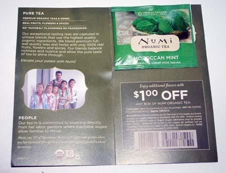Numi Moroccan Mint Tea