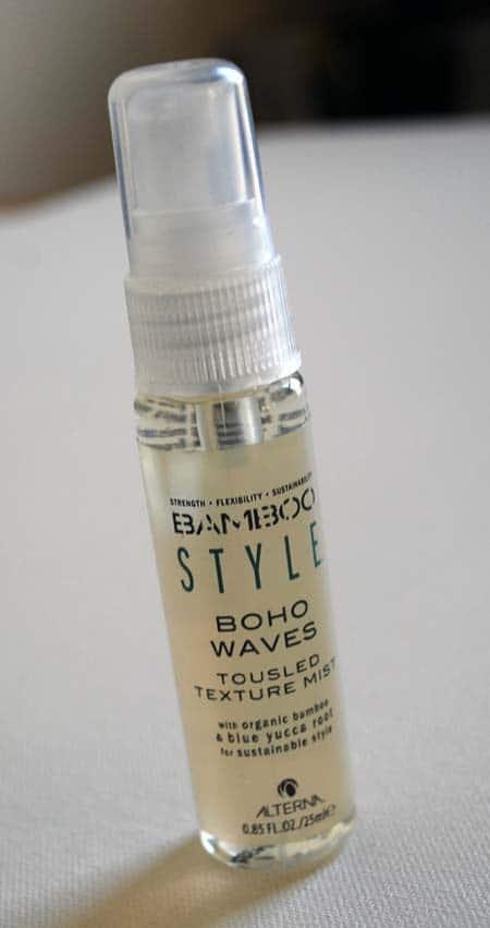 Alterna Haircare Bamboo Style Boho Waves Tousled Texture Mist
