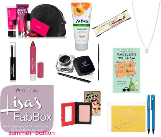 FantabulouslyFrugal.com Fab Box Giveaway - Win these fab items for summer!