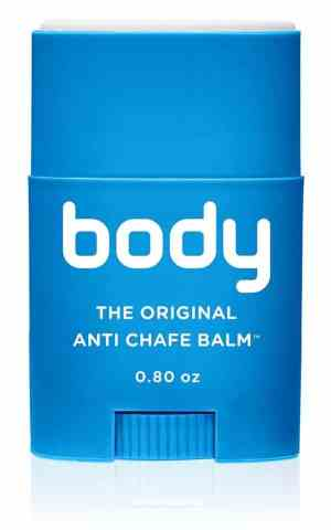 Bodyglide helps prevent thigh chafing