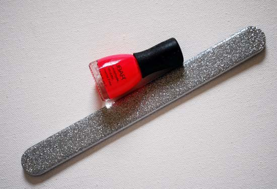 Nubar Nail Lacquer and Swissco Nail File