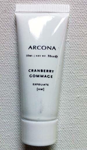 Arcona Cranberry Gommage