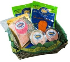 2013 Holiday Gift Guide: Downeast Smoked Salmon Sampler