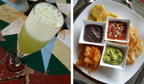 Great food in Costa Rica