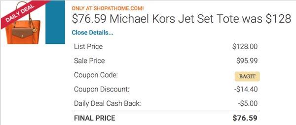 Michael Kors Tote Sale