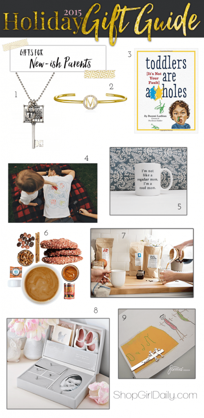 2015 Holiday Gift Guide: Gift for New-ish Parents
