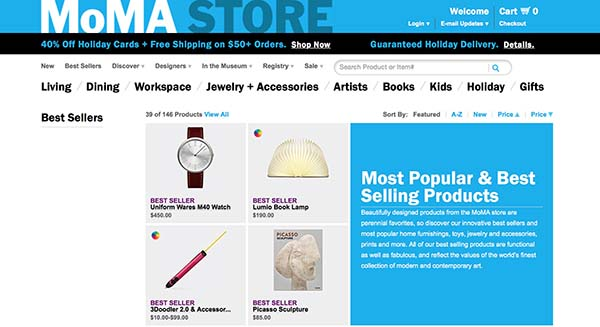 13 Unique Stores: Moma STore
