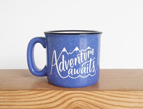 Adventure Awaits Mug from Wild & Free Designs