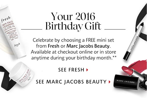The Sephora 2016 Beauty Insiders Birthday Gift is... - Shop Girl Daily