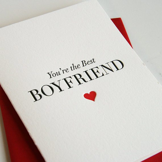 day cards for him youu0027re the best boyfriend