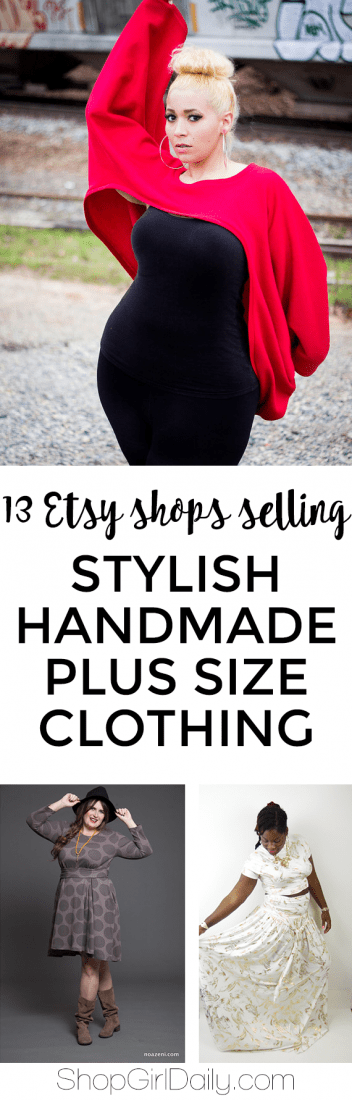 Spotted on etsy handmade plus size clothing shop girl daily for Selling shirts on etsy