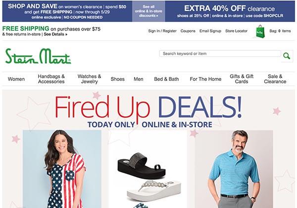Online Off-Price Stores: Stein Mart