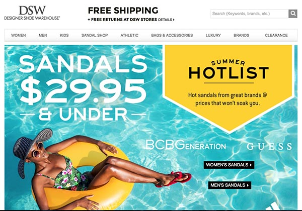 Online Off-Price Stores: DSW