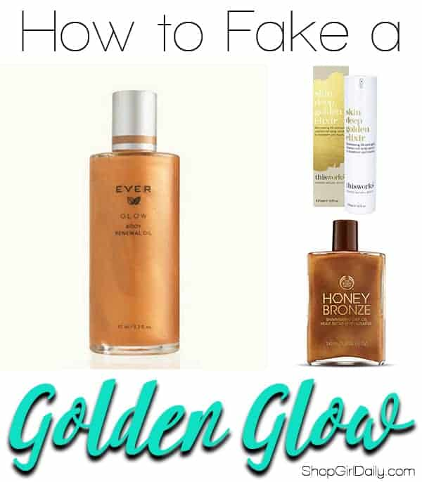 How to fake a golden glow on your legs | ShopGirlDaily.com