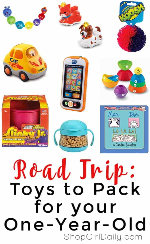 Road Trip: Toys to Pack for your one-year-old | ShopGirlDaily.com