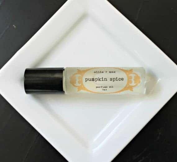 Pumpkin Spice Perfume