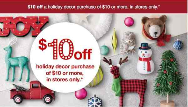 $10 off $10 Holiday Coupon