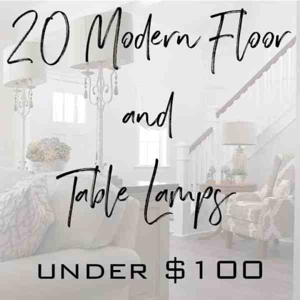 Featured floor and table lamps