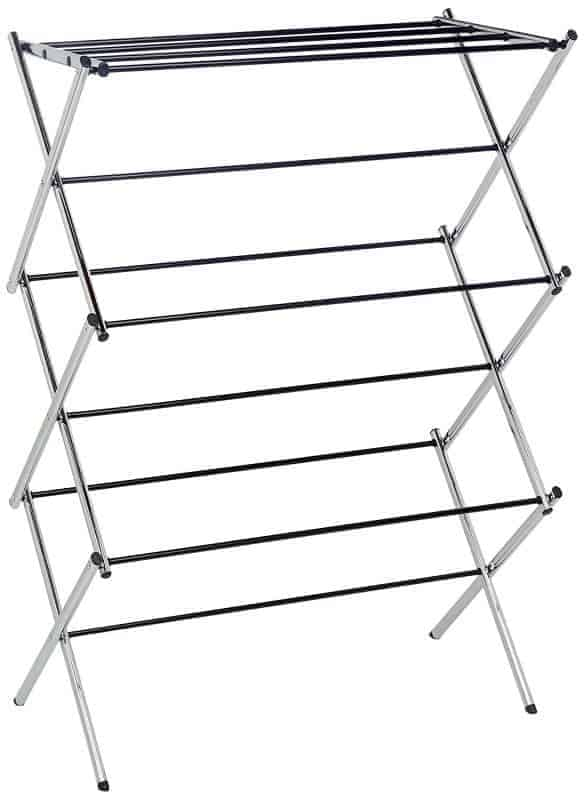 Use a drying rack to protect delicate items