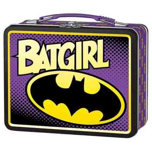 Superhero lunch box for girls - Batgirl