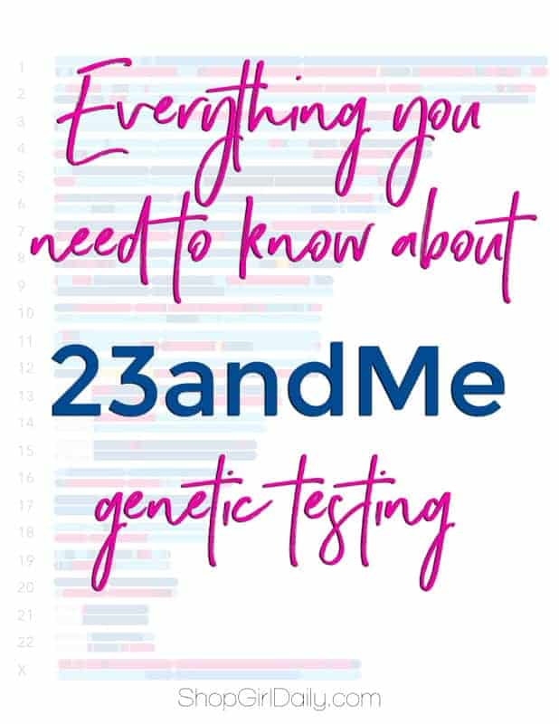 I tried a 23andMe Genetic Testing Kit and was absolutely amazed with the results! Here's everything you need to know.