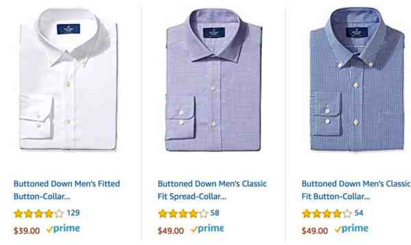 Men's Dress Shirts from Buttoned Down