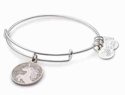 Alex & Ani Unicorn Charm Bracelet