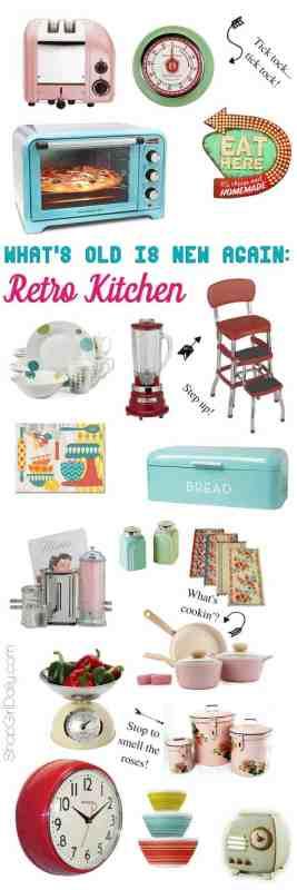 Fun Items for a Retro Kitchen | ShopGirlDaily.com