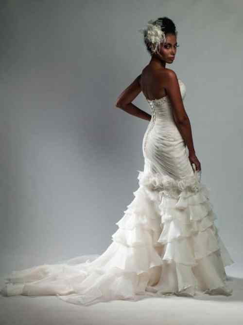 ruched wedding dresses are a beautiful option