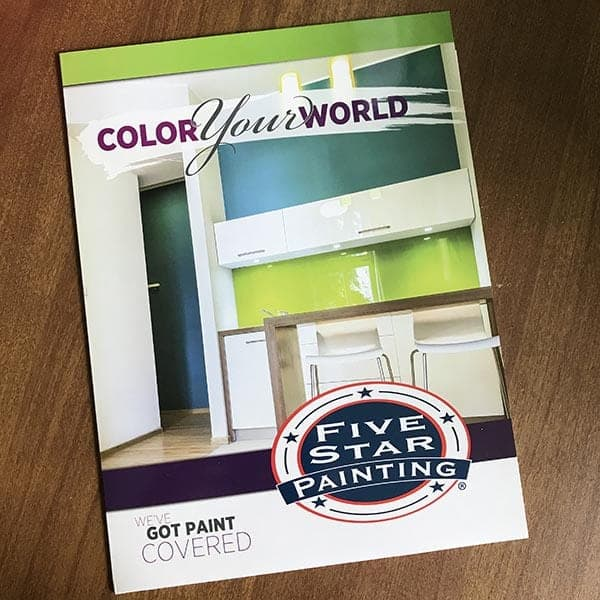 Five Star Painting Brochure
