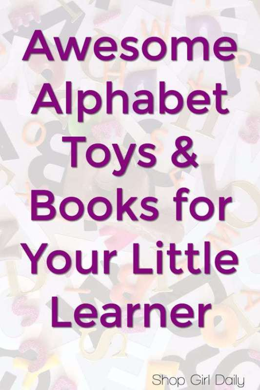 Alphabet Toys and Alphabet Books for Little Learners | ShopGirlDaily.com