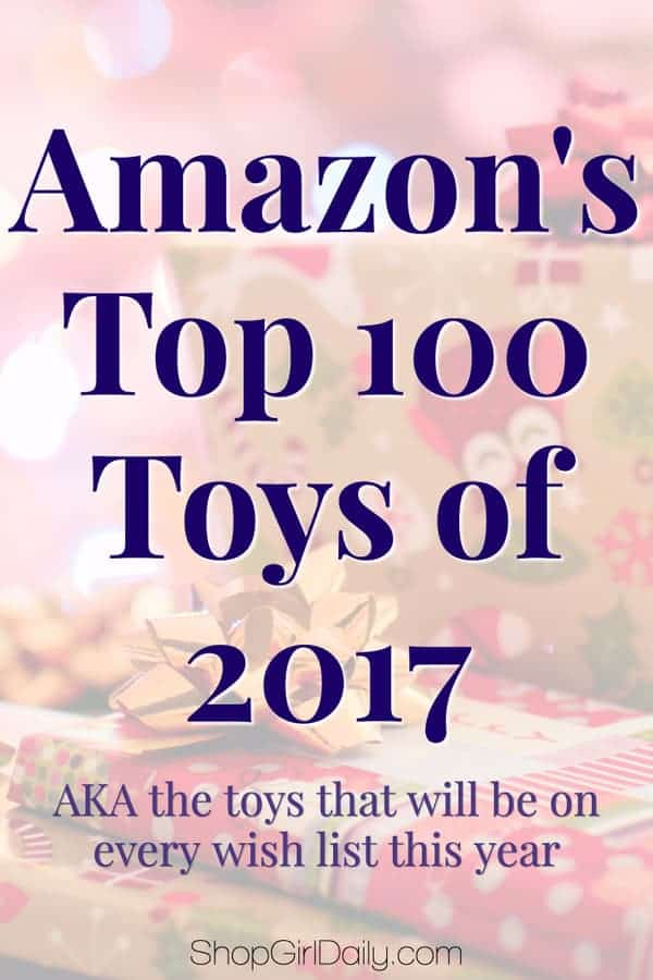 We are quickly heading into the holiday shopping season, which means the highly anticipated list of Amazon's Top 100 Toys for 2017 has been released.