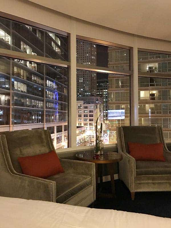 View from Kinzie Hotel