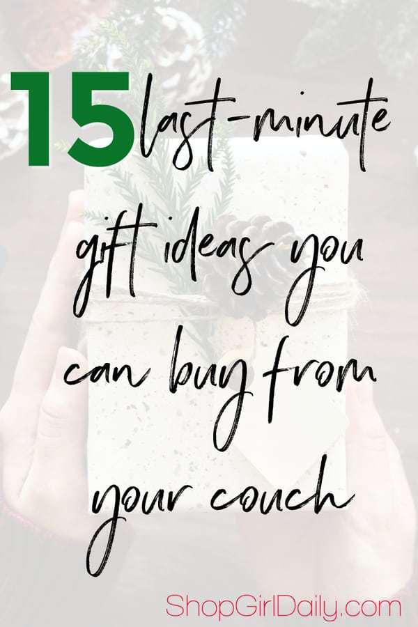 15 last minute gift ideas | ShopGirlDaily.com
