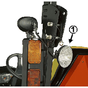 Auxiliary Lighting Wiring Diagram John Deere Auxiliary Rear Work Light Kit Lvb25547