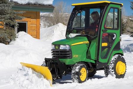 John Deere Gator Plow Wiring Diagram John Deere X700 Series 54 Inch Snow Blade Package
