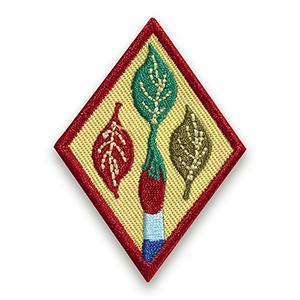 Cadette Outdoor Art Apprentice Badge