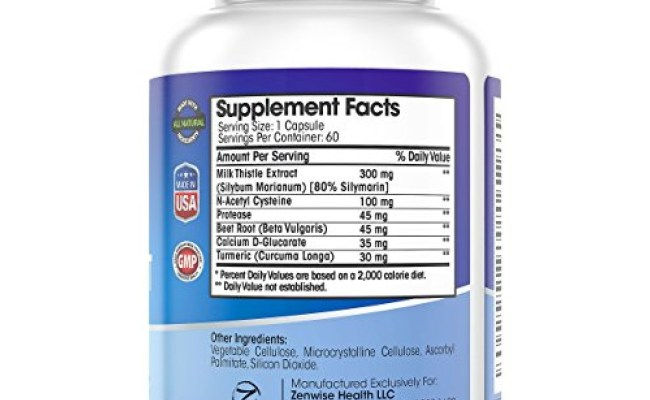 Buy Liver Support Supplements With 300 Mg Of Natural