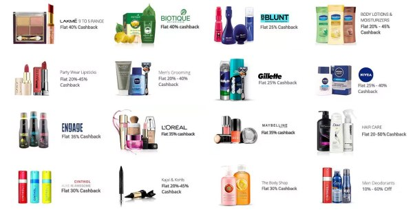 paytm-beauty-products-perfumes-sale-cashback-diwali