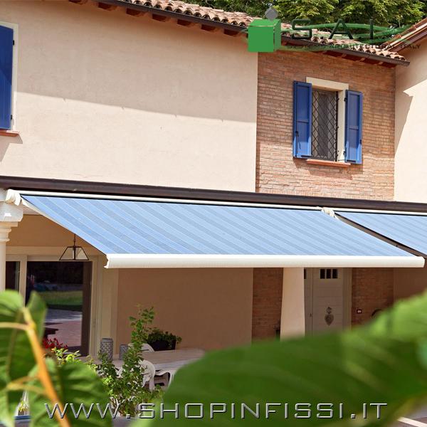 Trova i migliori prezzi e le offerte in corso. Tenda Da Sole A Bracci Con Cassonetto Sistemi Per L Architettura Su Shop Infissi