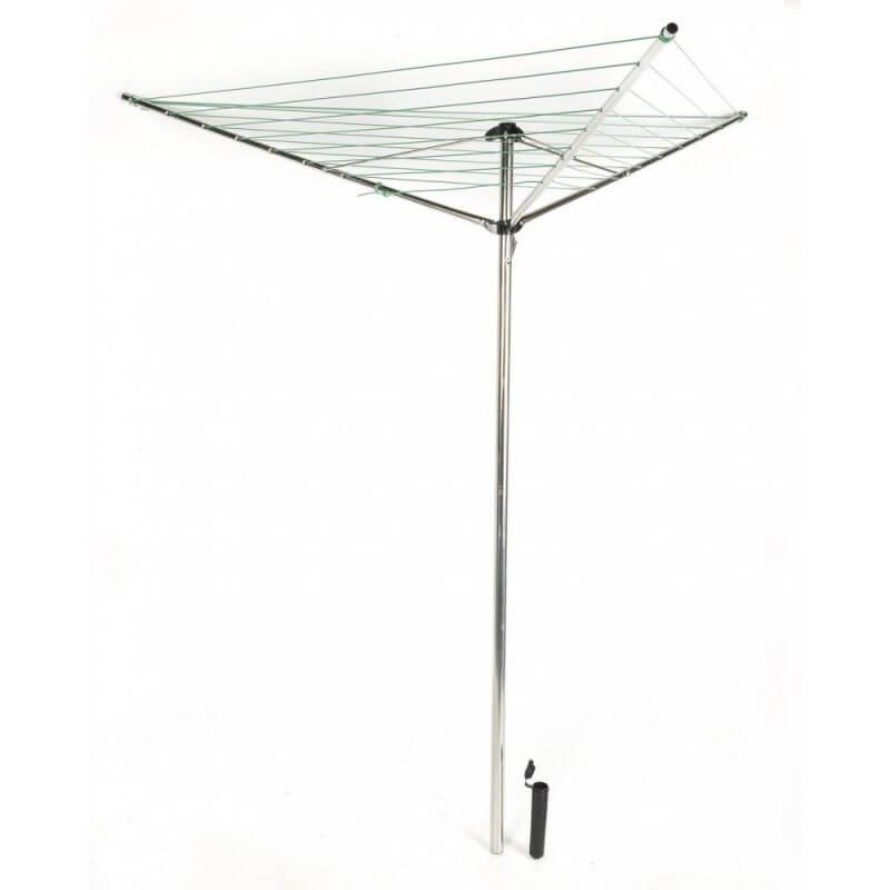 Sechoir A Linge Parapluie Pliable Et Support Etendoir Linge