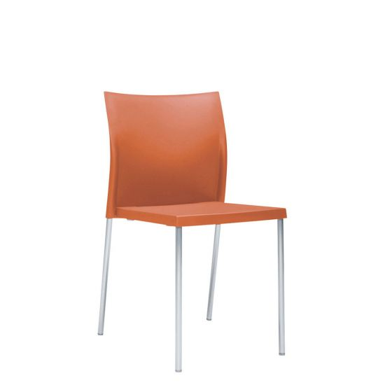 orange side chair recliner covers for incontinence bikini interior medium chairs janus et cie